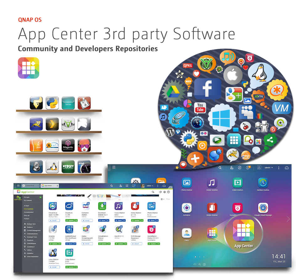 QNAP-QTS-App-Center-3rd-party-Software-Community-and-Developers-Repositories.