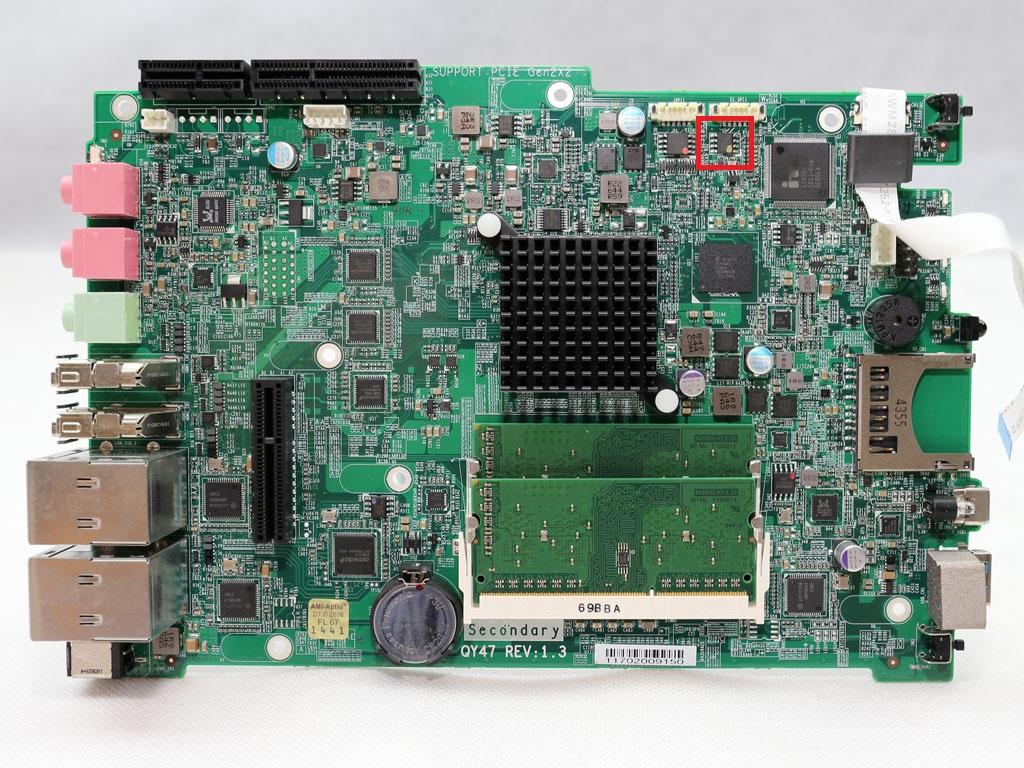 Qy47 - EC chip.
